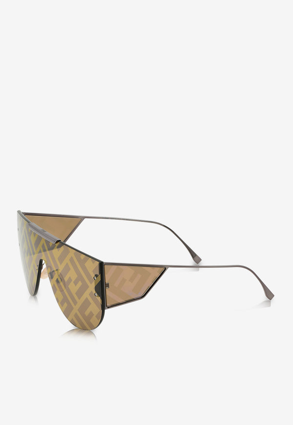 Fendi Fabulous 2.0 Panorama Sunglasses 716736333601BROWN 3