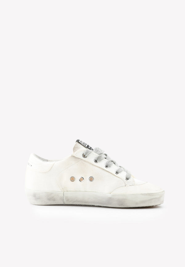 Golden Goose DB Boys Superstar Penstar Canvas Sneakers White GJF00107F0WHITE MULTI