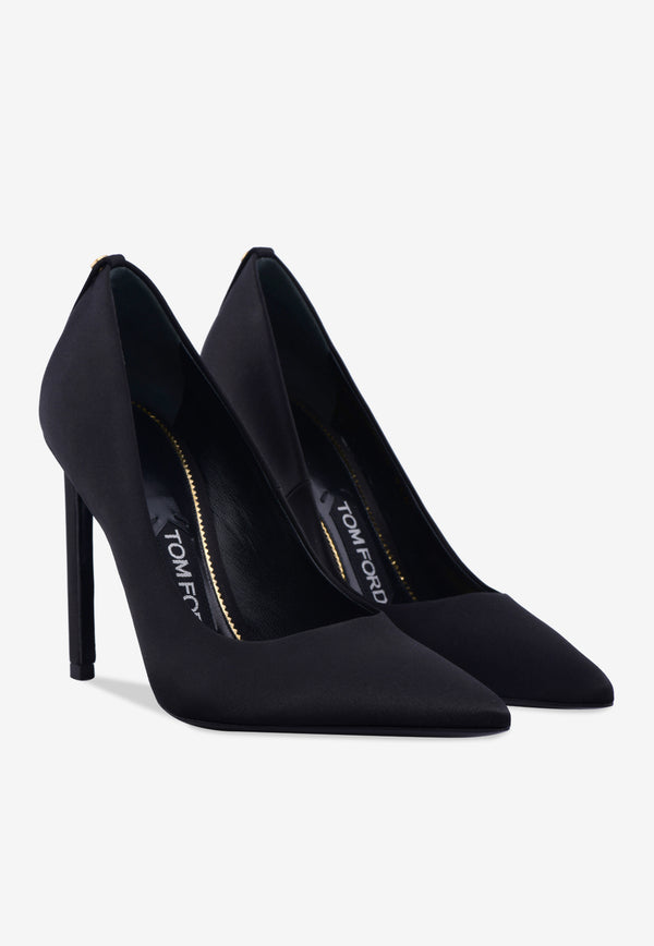 TF 105 Satin Pointed Pumps