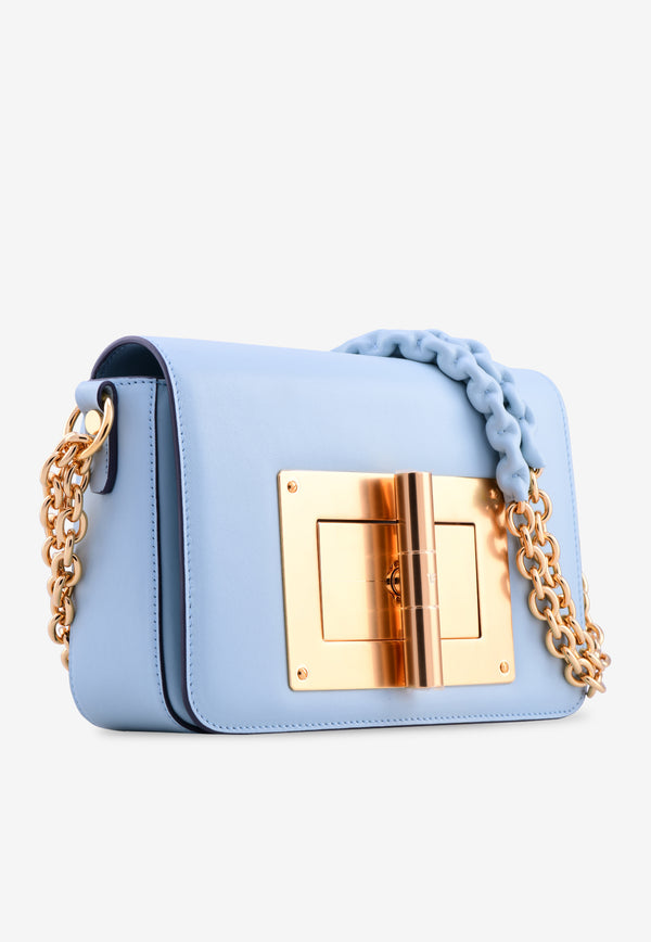 Natalia Large Calf Leather Shoulder Bag
