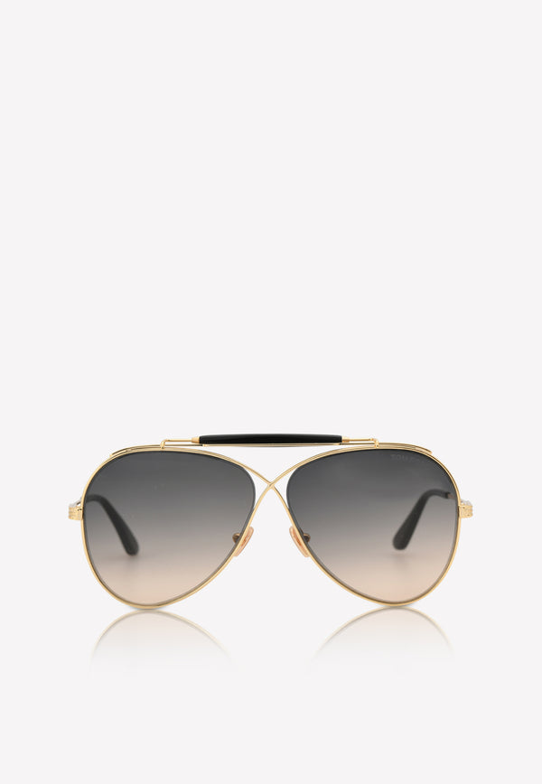 Holden Butterfly Aviator Sunglasses FT081830B60