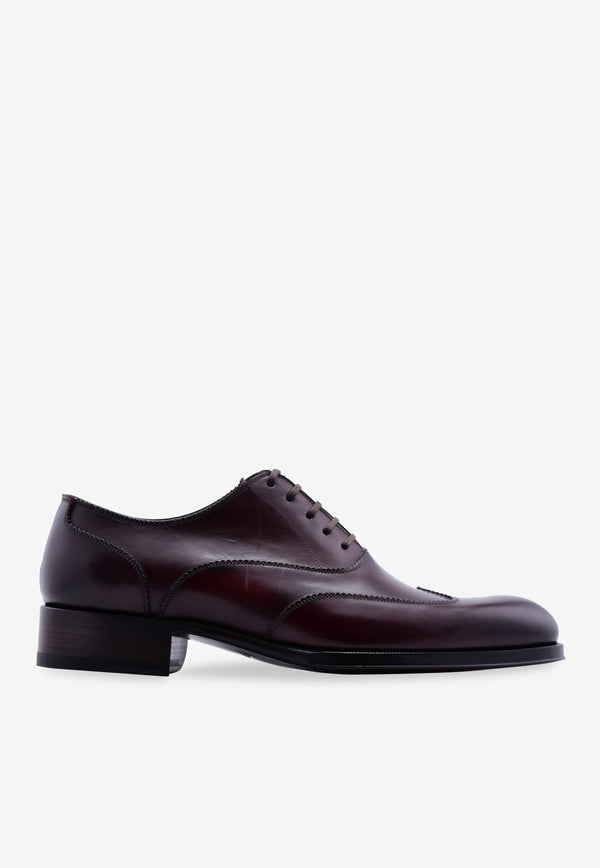 Austin Leather Wingtip Oxford Shoes