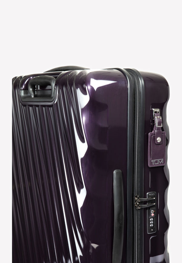 19 Degree Polycarbonate Short Trip Expandable Packing Case- Blackberry