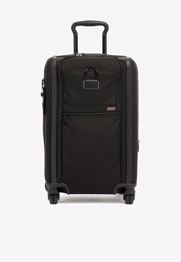 Tumi Alpha International Dual Access 4-Wheeled Carry-On Luggage