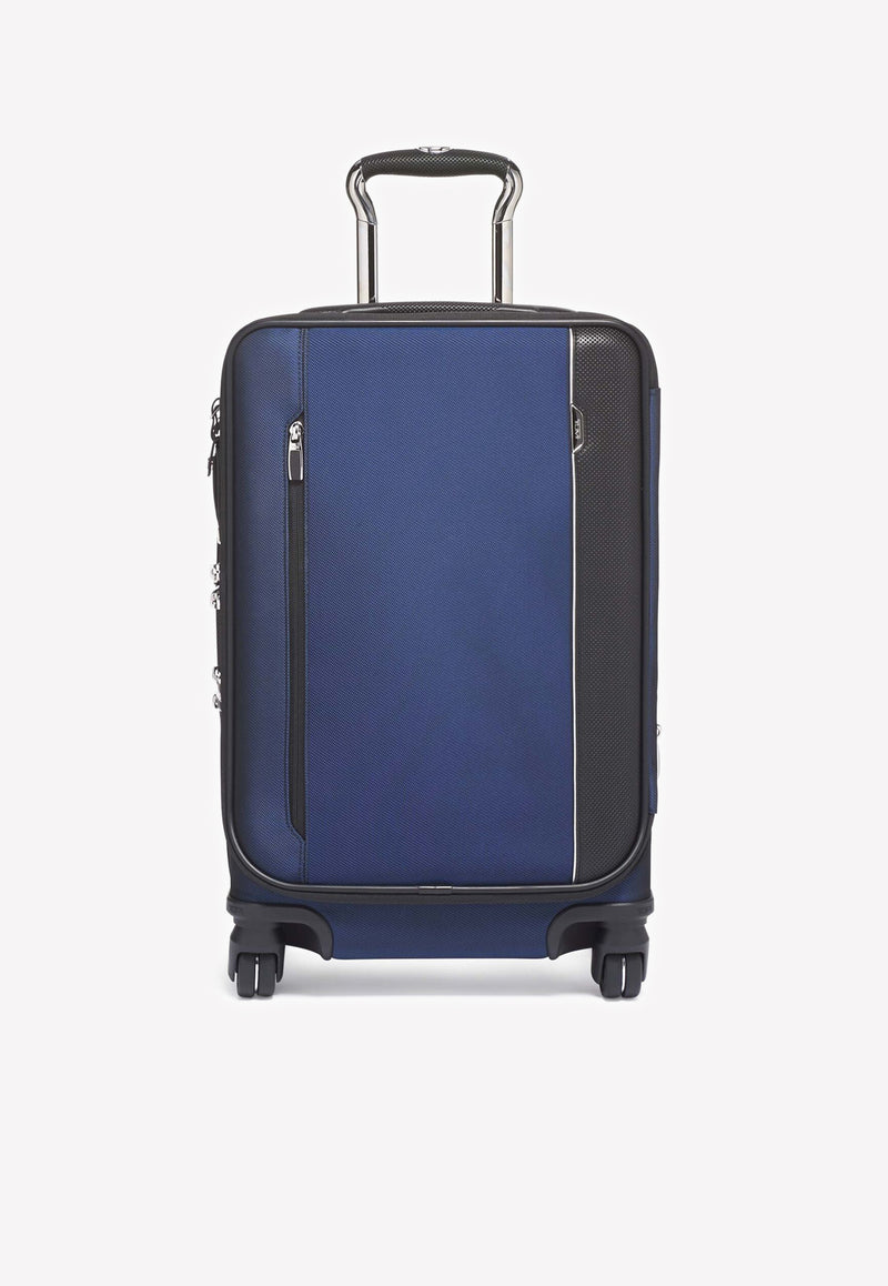 Arrive' International Dual Access 4-Wheeled Carry-On Spinner Luggage