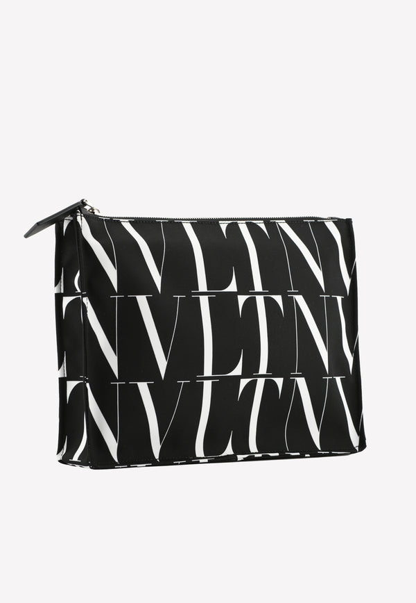 VLTN Print Pouch in Canvas