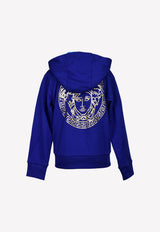Boys Medusa Logo Print Sweatshirt with Hood