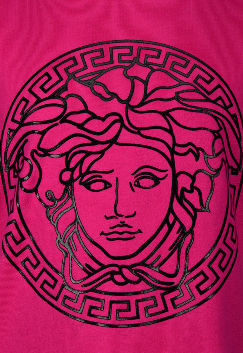 Girls Medusa Motif T-shirt