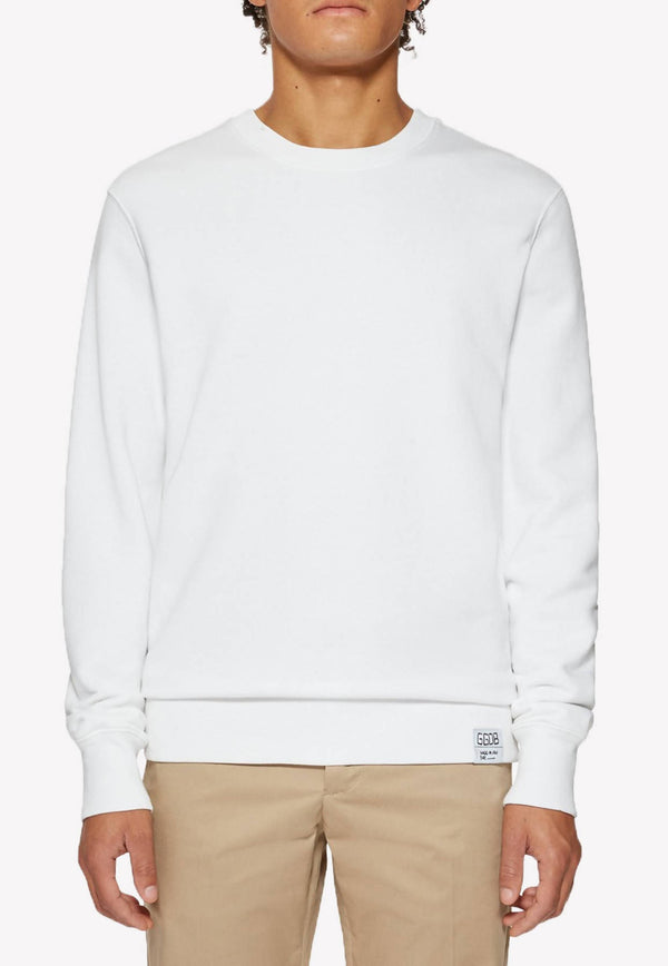 Archibald Cotton Sweatshirt with Contrasting Print