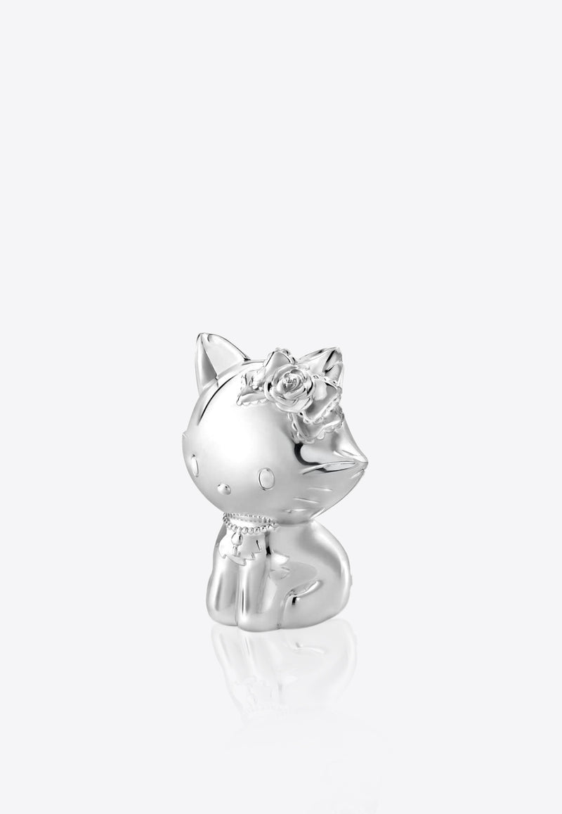 Charmy Kitty Silver Plated Money Box