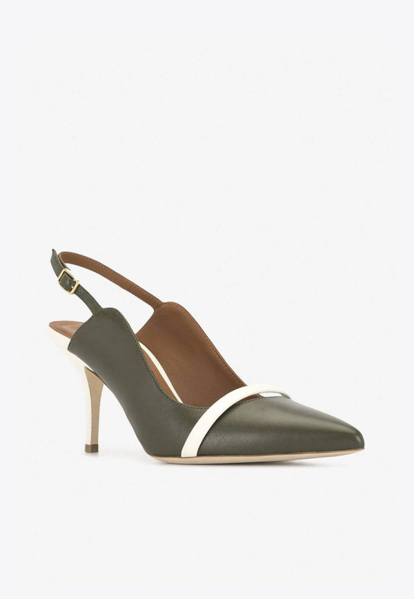 Marion 70 Slingback Pumps in Nappa Leather-E