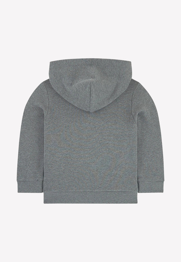 Boys Hooded Cotton Sweater