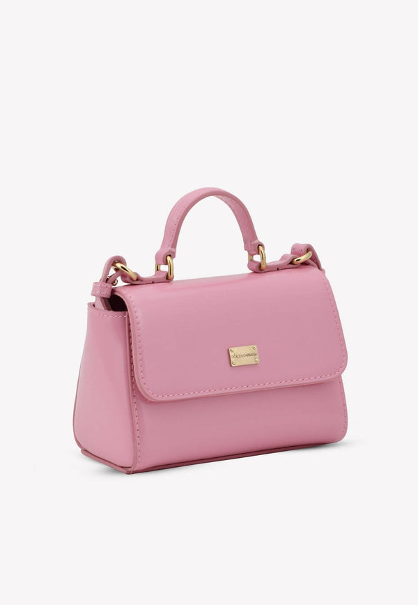 Girls Patent Leather Top Handle Bag
