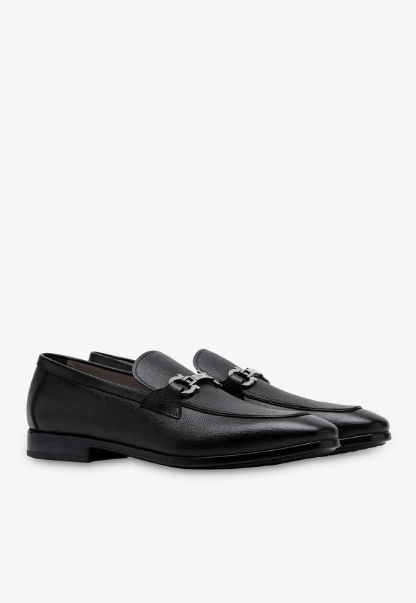 Ree Gancini Loafers in Calfskin