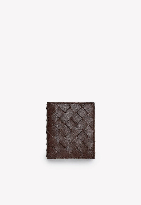 Mini Continental Wallet in Intrecciato Nappa Leather