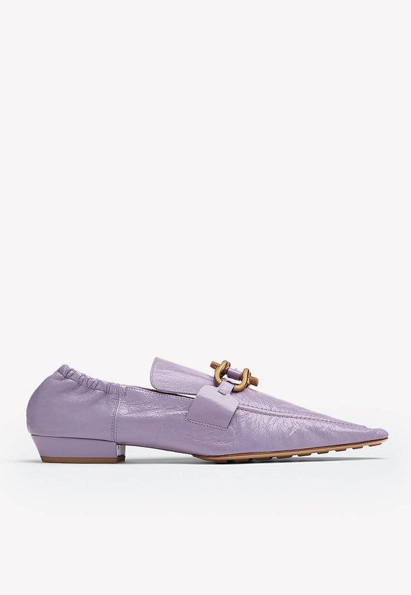 The Madame Lambskin Loafers