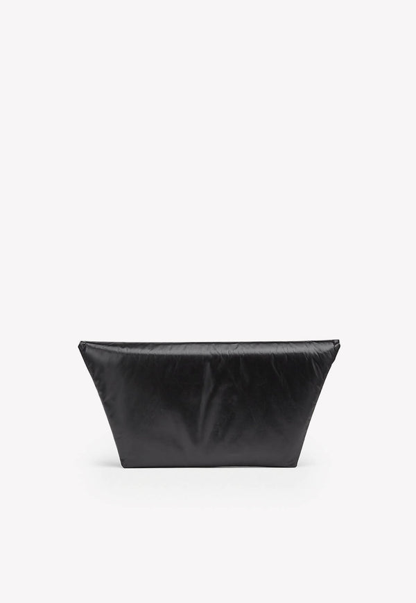 Large Envelope Clutch in Padded Calfskin