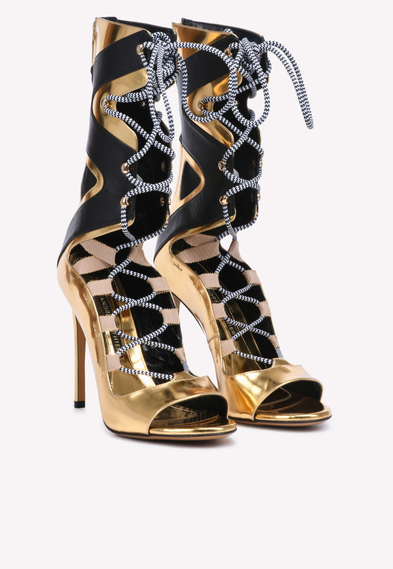 Carine Superglass Lace-up Leather Boots