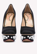 Pearl Dolly 140 Platform Pumps