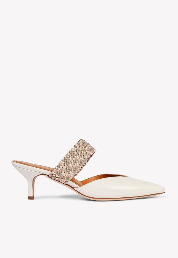 Maisie 45 Mules in Nappa Leather-E