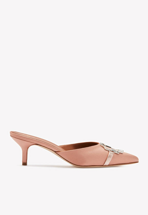 Missy Mules in Satin-E