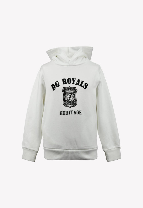 Boys DG Royals Heritage Print Hooded Sweatshirt