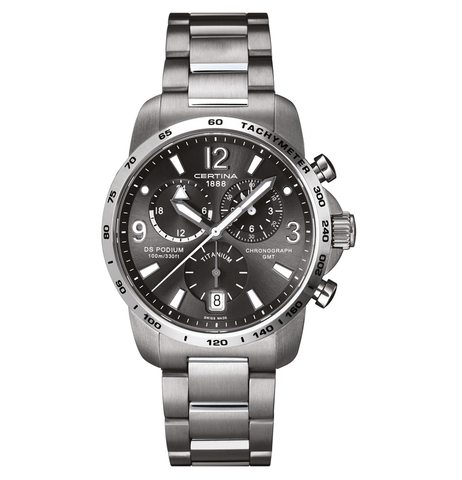 C001.639.44.087.00 CERTINA DS PODIUM BIG SIZE CHRONO GMT