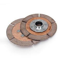 Replacement Clutch Pack, 2 Disc, 7.25