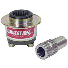 Sweet Quick Release Steering Hub, Steel for Collapsable Column