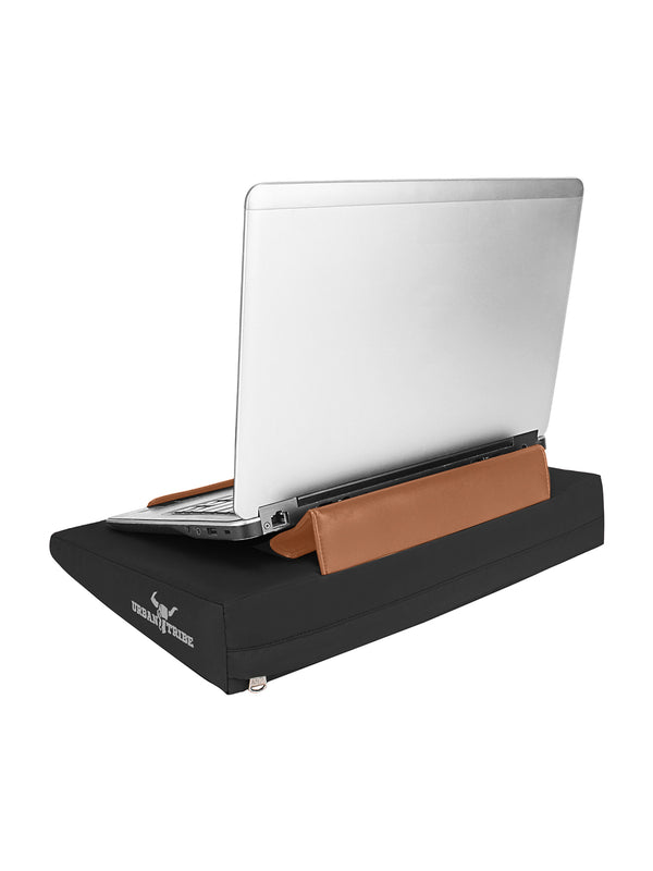 Laplow Lite Cushioned Lapdesk Black - (Laptop Not Included)