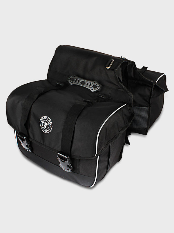 Fifth Gear Saddle Bag (Black)
