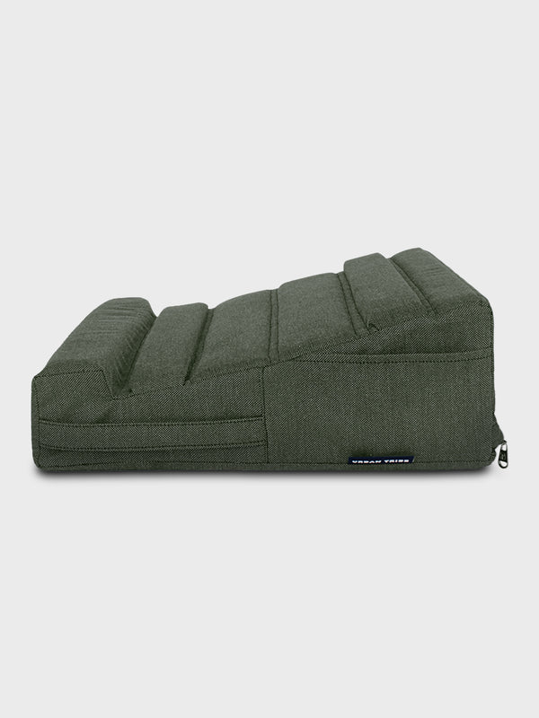 Laplow Cushioned Lapdesk Olive - (Laptop Not Included)