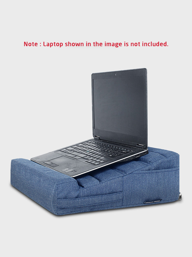 Laplow Cushioned Lapdesk Denim - (Laptop Not Included)