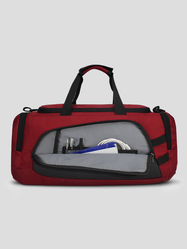 Columbus Travel Duffel - Red