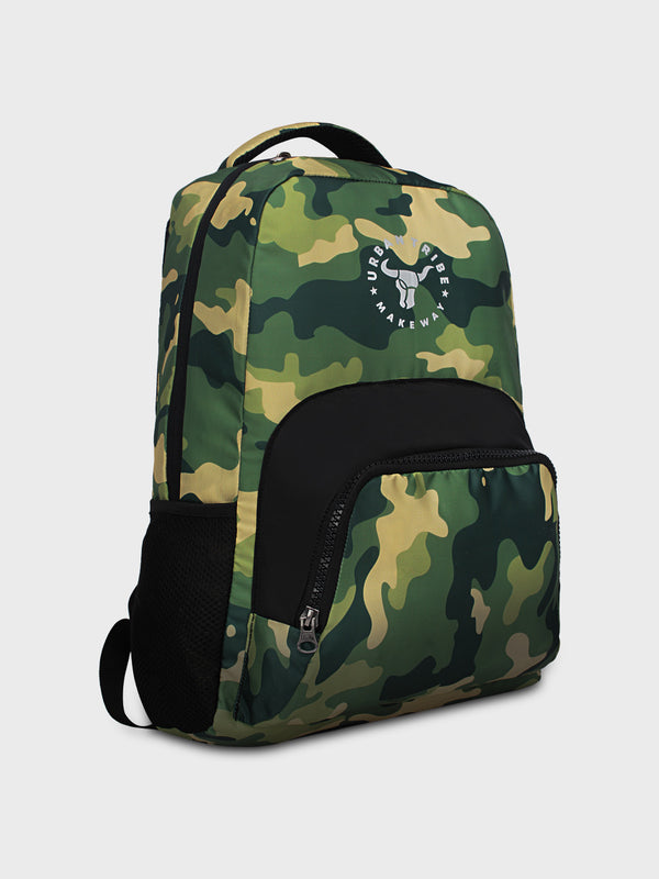 Floyd Stylish Camo Print Backpack - Green