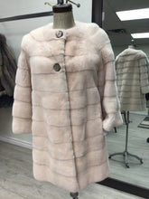 Load image into Gallery viewer, pink dyed mink coat