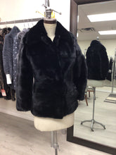 Load image into Gallery viewer, dark ranch mink jacket