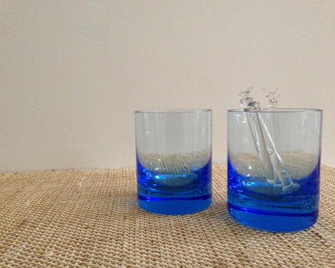 Moser Old-Fashioned Glasses Pair