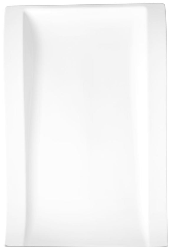 New Wave Large Rectangular Dinner Plate, 15 1/2 in
