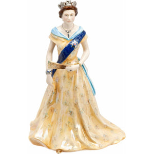 Diamond Jubilee Royal Worcester Queen Elizabeth II