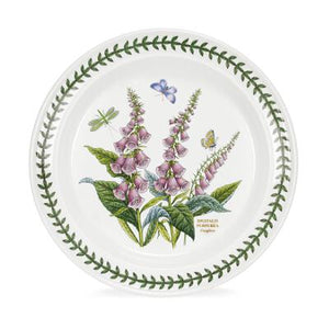 "Portmeirion Botanic Garden  Dinner Plates 10"" Set of 6"