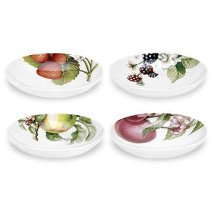 "Portmeirion Eden Soup Plates 8.5"" Set of 4"