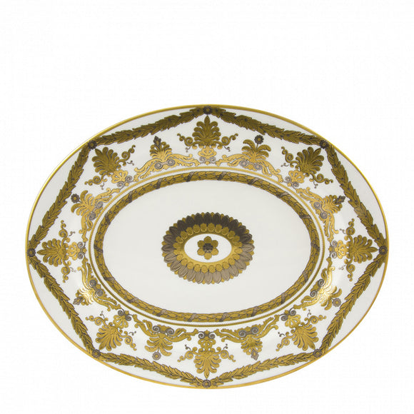 PEARL PALACE - OVAL DISH - SMALL (34.5CM ) PLATTER