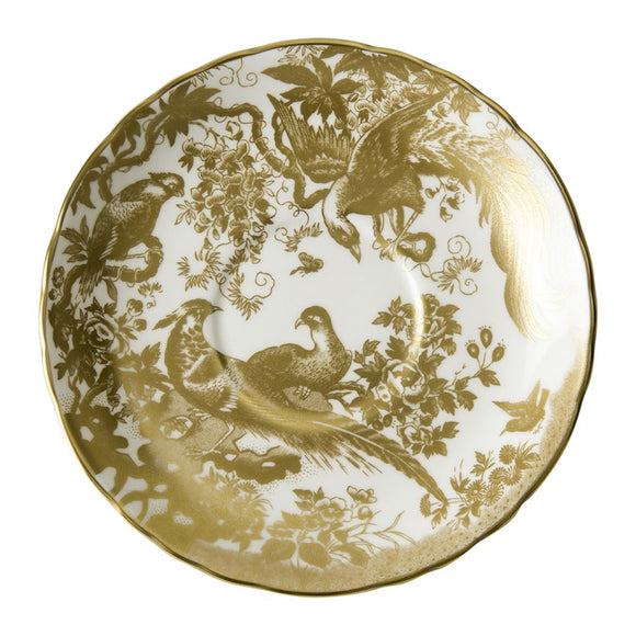 AVES GOLD - CREAM SOUP SAUCER (16cm)