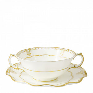 ELIZABETH GOLD - CREAM SOUP CUP
