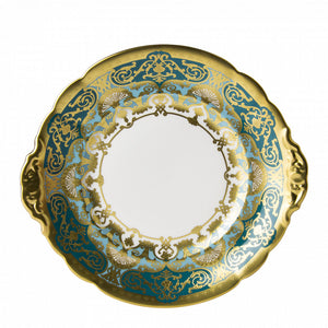 HERITAGE FOREST GREEN & TURQUOISE - BREAD & BUTTER PLATE