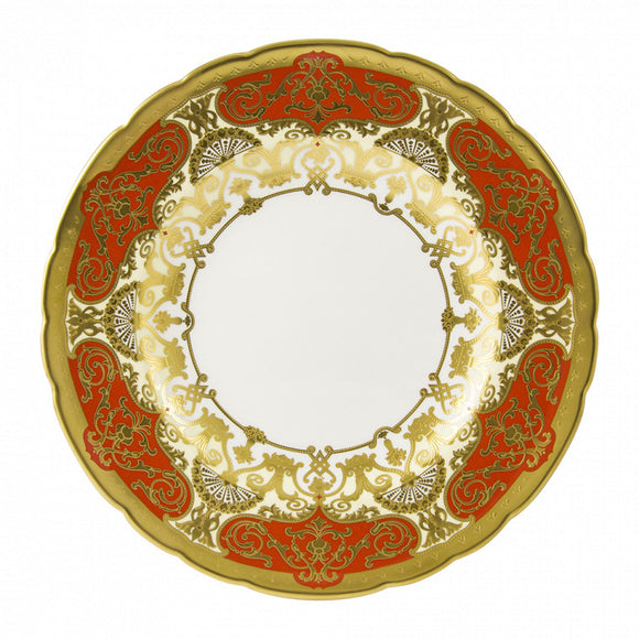 HERITAGE RED & CREAM - PLATE (27cm )