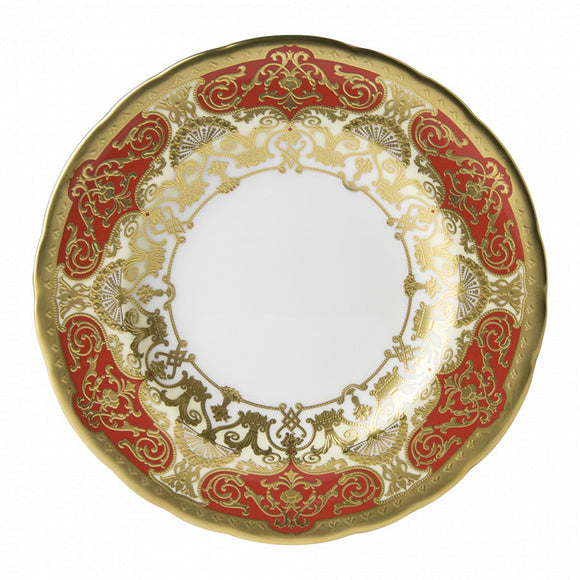HERITAGE RED & CREAM - PLATE (16cm ) BREAD