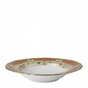 HERITAGE RED & CREAM - RIM SOUP (21.75cm )