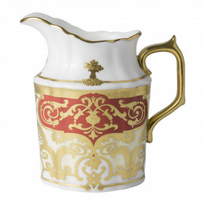 HERITAGE RED & CREAM - CREAM JUG (27cl )